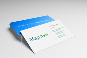 Lifepays Rewards Program Business Card