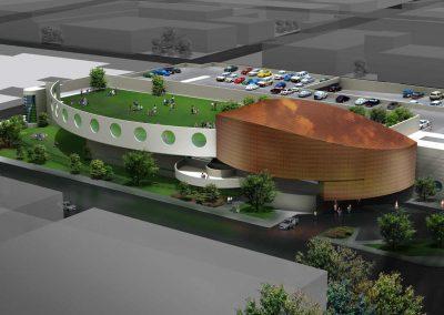 Arthur Dyson Architect - Fresno Arts and Sciences Center -Fresno, CA