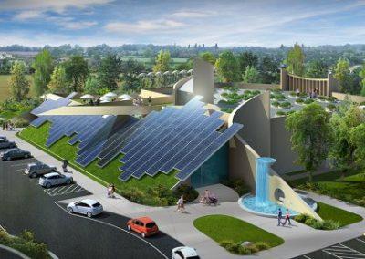 Arthur Dyson Architect - Conservation Corp. Institute - Fresno, CA