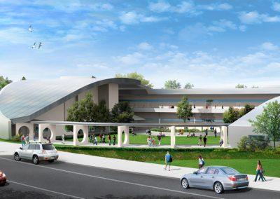 Arthur Dyson Architect - University High School - Fresno State Campus