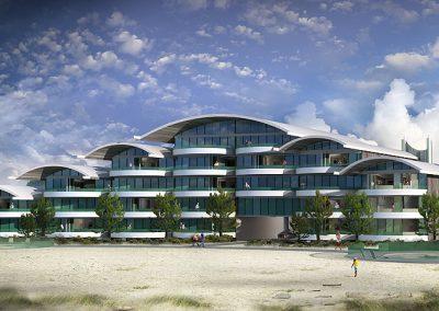 Arthur Dyson Architect - Salt Aire Condos - Grays Harbor, WA