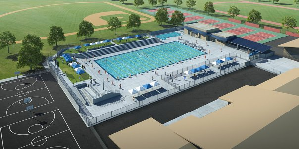 tam+cz Architects - Bullard High School Pool - Fresno, CA