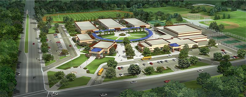 tam+cz Architects - Glacier Point Middle School - Fresno, CA